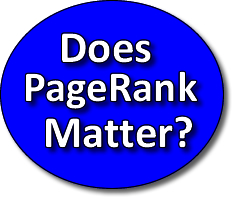 Does PageRank Matter to SEO